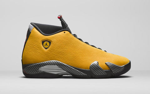 Air Jordan 14 'Ferrari - University Gold'