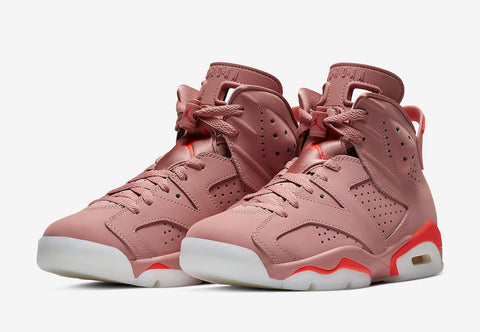 Aleali May x Air Jordan 6 Retro 'Millennial Pink'