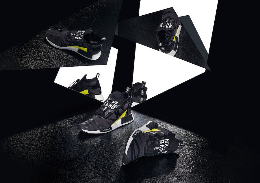 d412e57b6bca3 Singapore Release  Bape x Neighborhood x Adidas NHBAPE NMD STLT ...
