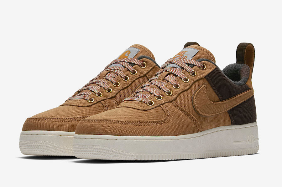 outlet store e1bff da7ac Carhartt WIP x Nike Air Force 1 Low