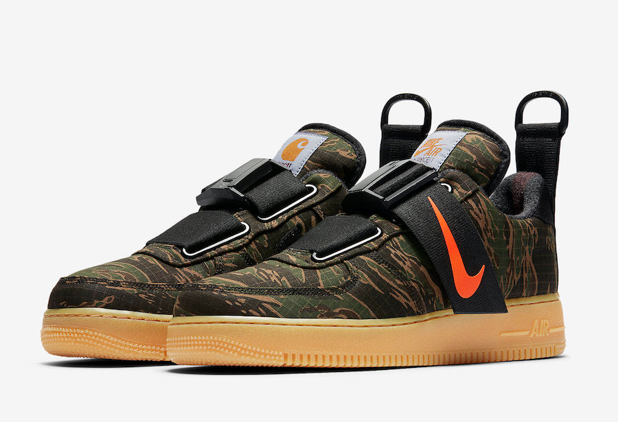 Singapore Release  Carhartt WIP x Nike Air Force 1 Low Utility ... 2527101fee3a