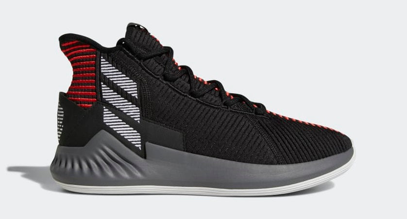 727c51ccac8 Singapore Release  Adidas D Rose 9  Black Red     Black Gold  - Sneakest