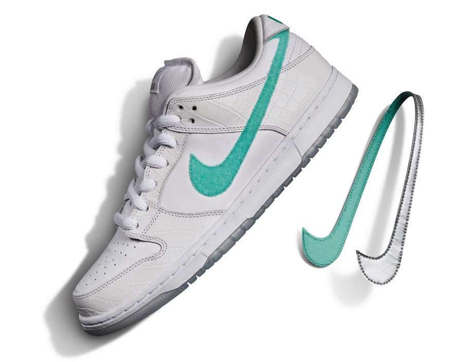 Diamond Supply Co. x Nike SB Dunk Low 'White'