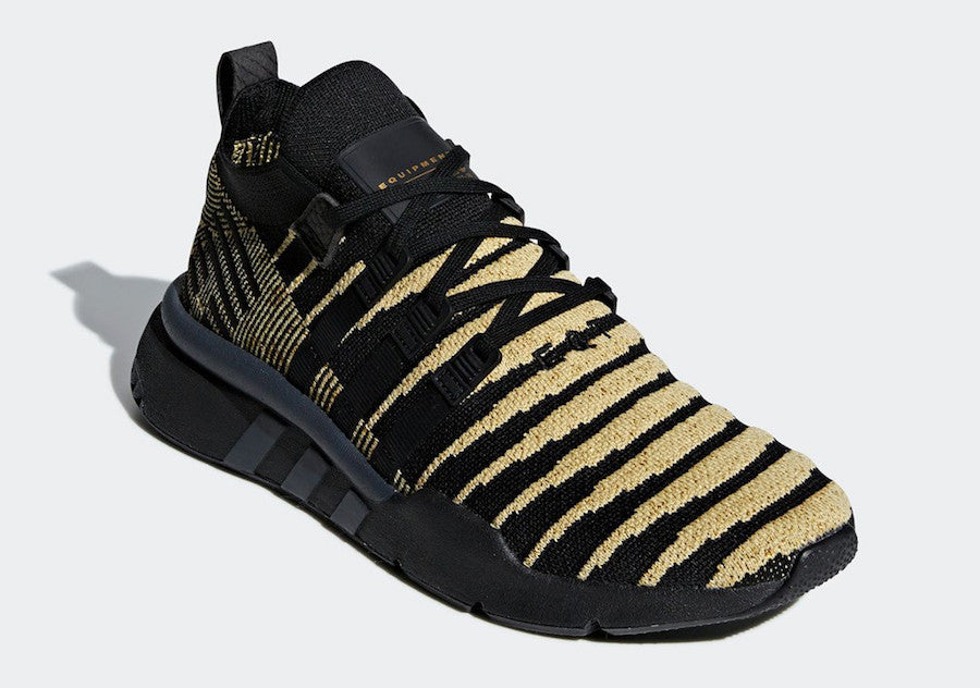 competitive price 14c2a af6e9 Dragon Ball Z x Adidas EQT Support Mid ADV Shenron - Gold Black