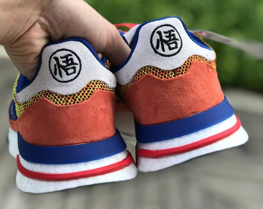 Dragon Ball Z x Adidas ZX 500 'Son Goku'