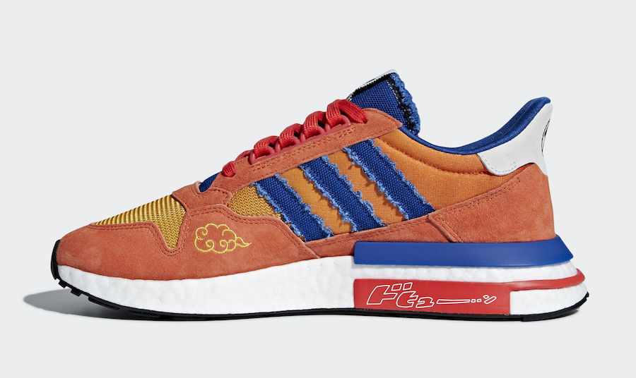 Dragon Ball Z x Adidas ZX 500 RM 'Son Goku'