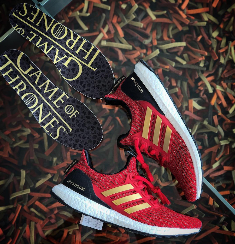 Game of Thrones x Adidas Ultra Boost 'Lannister'