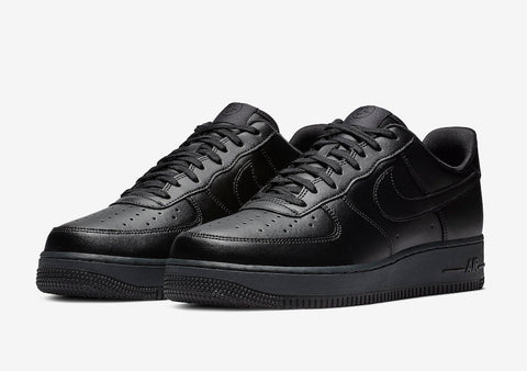 Nike Air Force 1 Low Flyleather 'Triple Black'