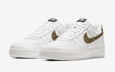 Nike Air Force 1 'Ivory Snake'