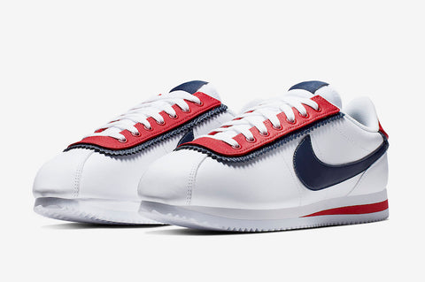 Nike Cortez Basic SE 'White/University Red'