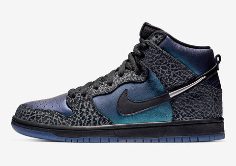 Black Sheep x Nike SB Dunk Hi 'Black Hornet'