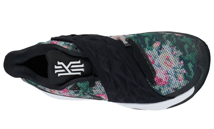3220e215b7a4 Release Date  Nike Kyrie Low  Floral  - Sneakest