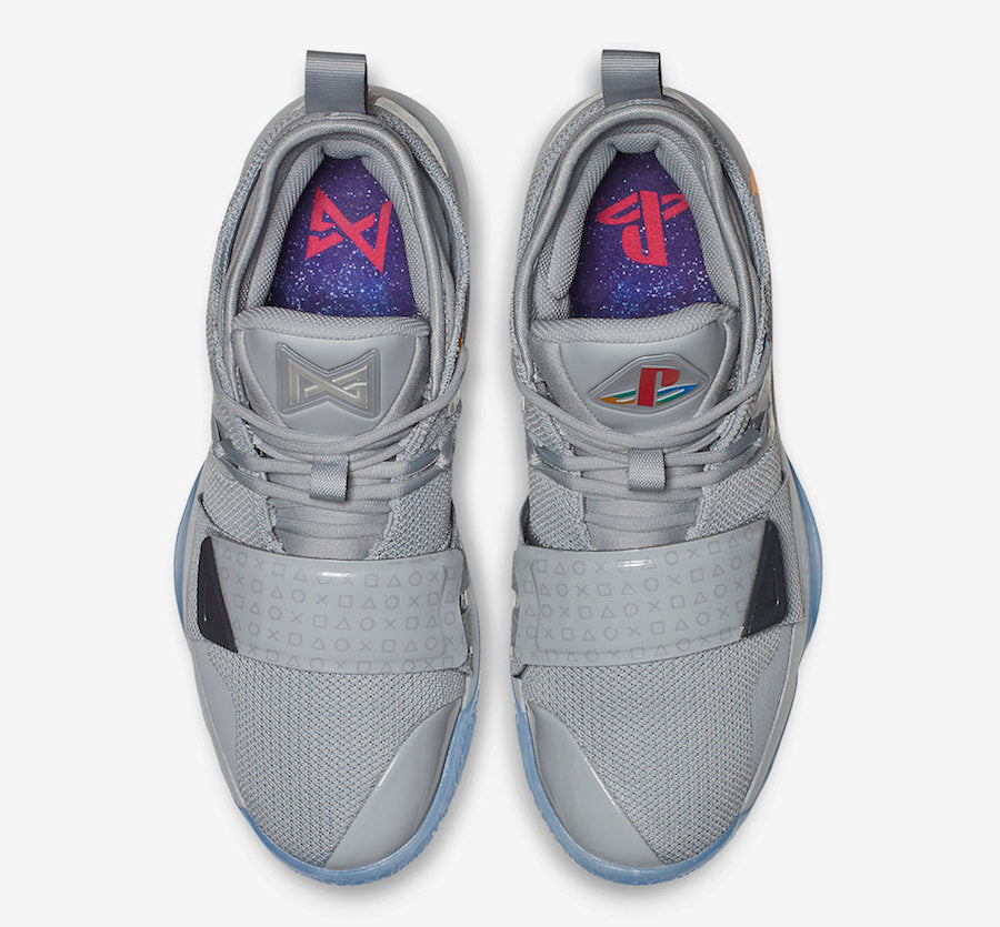 8a44a7c44dba Singapore Release  PlayStation x Nike PG 2.5  Wolf Grey  - Sneakest