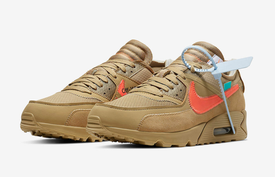 best sneakers eb7ca 0c917 Singapore Release  Off-White x Nike Air Max 90  Desert Ore  -