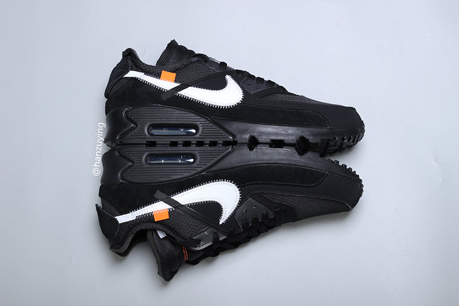 Off-White x Nike Air Max 90 'Black'