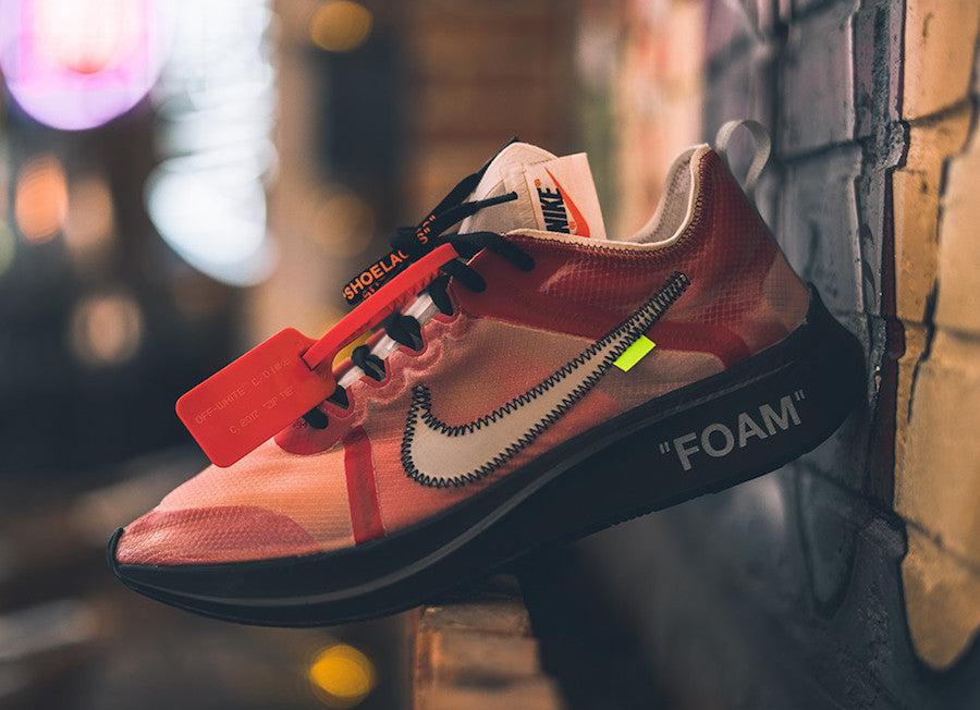Off-White x Nike Zoom Fly SP Promo