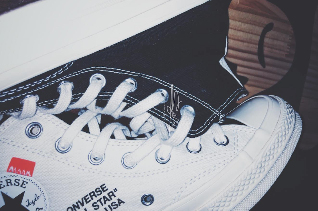 001aa05214160b Preview of Off-White x Converse Chuck Taylor  Black White  - Sneakest