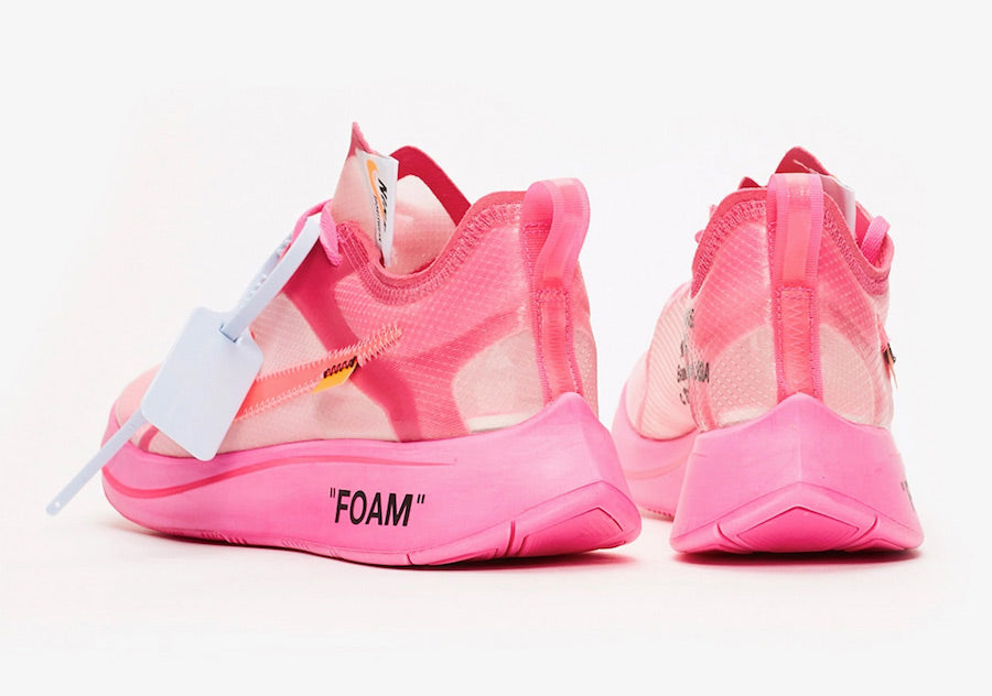 8dd0938917f19 Singapore Release  Off-White x Nike Zoom Fly SP  Tulip Pink  - Sneakest