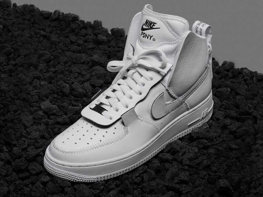 83455322a972a4 Release Date  PSNY X Nike Air Force 1 High Pack - Sneakest