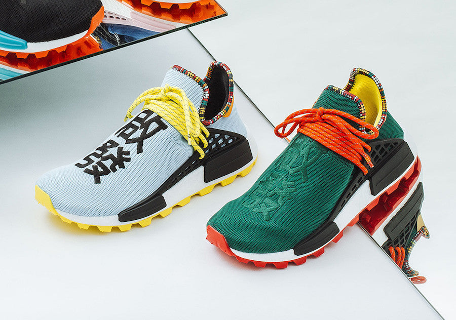 8ae11c55eeafd Release Date  Pharrell Williams x Adidas NMD HU  Inspiration Pack ...