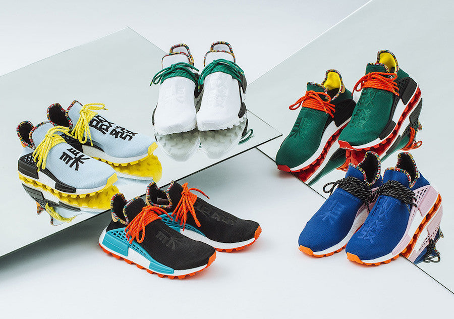 63e076418 Release Date  Pharrell Williams x Adidas NMD HU  Inspiration Pack ...