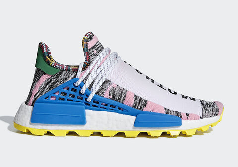 Pharrell Williams x Adidas NMD HU Solar Pack 'MOTH3R'