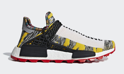 Pharrell Williams x Adidas NMD HU 'Solar Pack'