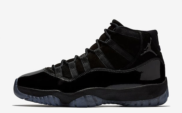 2cdc4679c2b6fe The Air Jordan 11  Cap and Gown  makes the perfect formal and daily  sneakers with the sleek all Black colorway. Combining it with the iconic  shiny patent ...