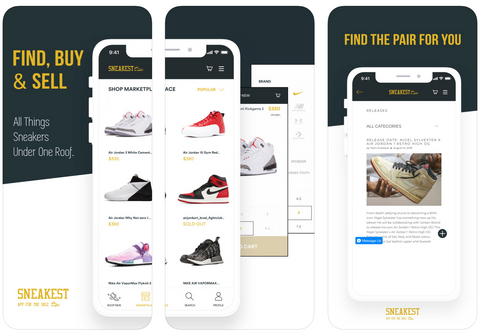 Sneakest App - Buy and Sell Sneakers