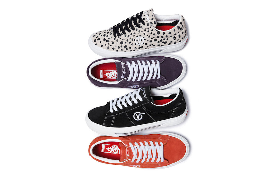 Supreme x Vans Sid Pro Collection