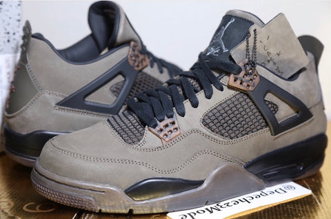 Travis Scott x Air Jordan 4 Retro 'Olive Cactus Jack'