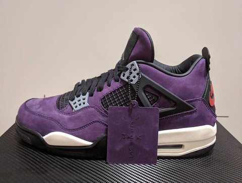 Travis Scott x Air Jordan 4 Retro 'Purple - Friends & Family'