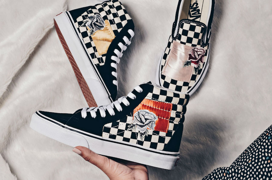 Vans 'Satin Patchwork' Pack