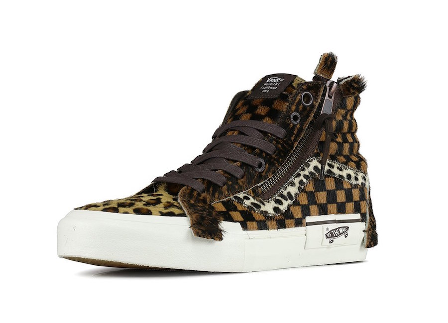 Vans Sk8-Hi 'Cut and Paste Animal Print'