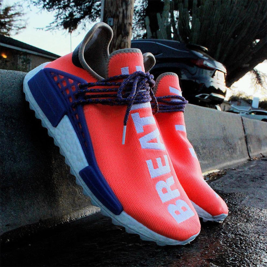 2771445d2 Unreleased colorway of Pharrell Williams x Adidas NMD HU - Sneakest
