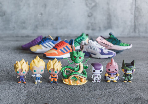 Dragon Ball Z x Adidas Collection