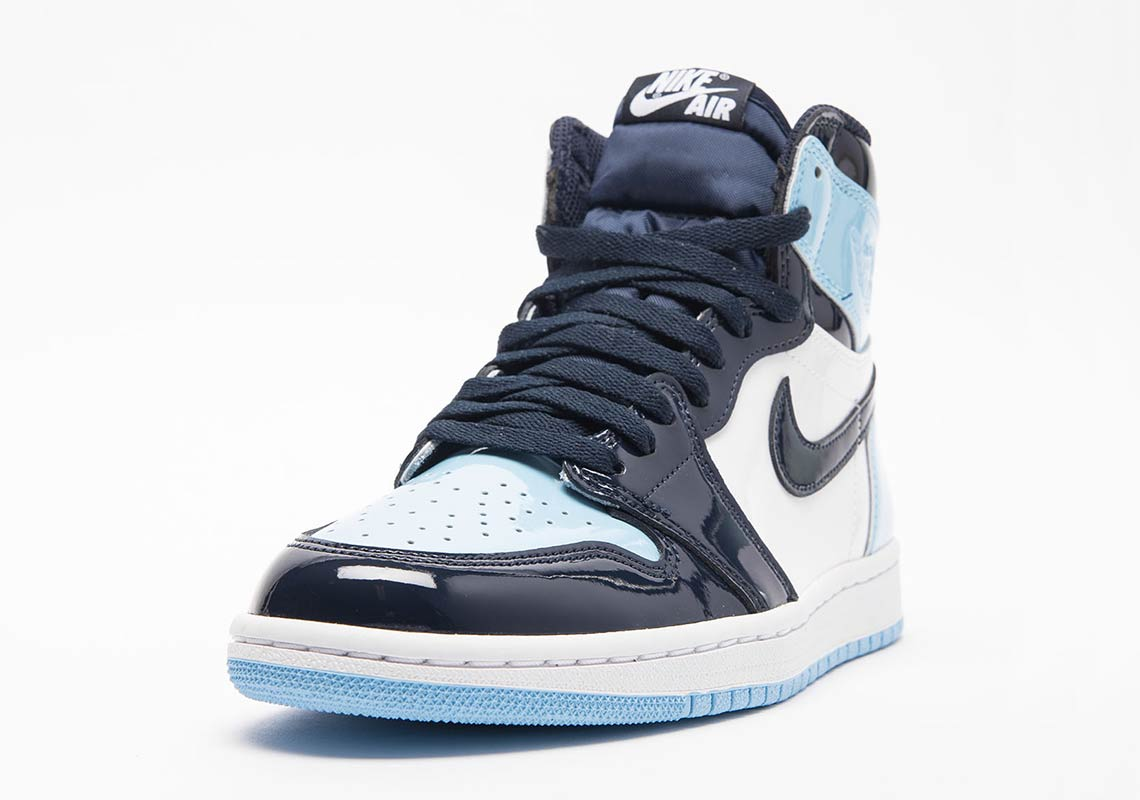 12c79e72376 Release Date  Air Jordan 1 Retro High OG  Blue Chill  - Sneakest
