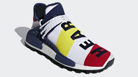BBC x Pharrell Williams x Adidas NMD HU 'Heart/Mind'