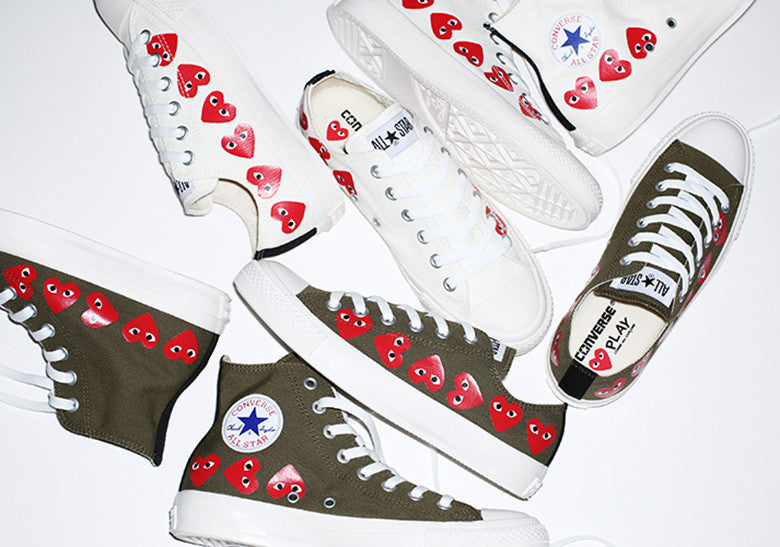 Singapore Release  COMME des Garcons PLAY x Converse Chuck Taylor ... 2bc16497b578