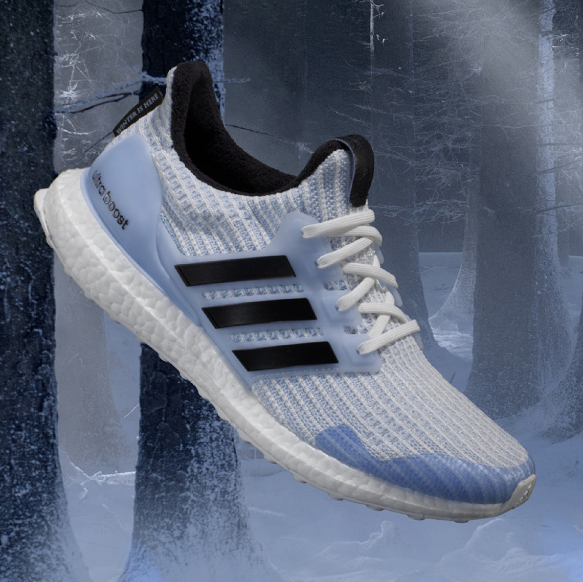 c7f4c8fb3aa Singapore Release  Game of Thrones x Adidas Ultra Boost  White Walkers -  Sneakest