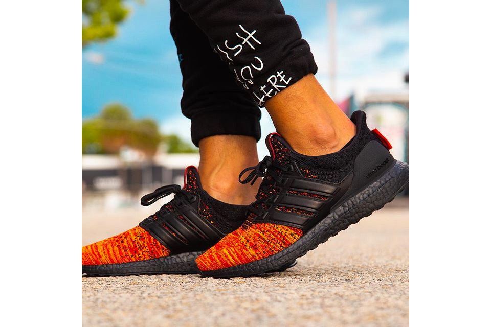 Game of Thrones x Adidas Ultra Boost 'House Targaryen Dragons'