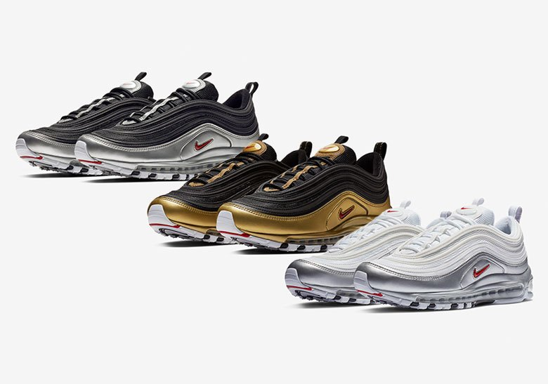 low cost f0fa6 8f5b2 Singapore Release  Nike Air Max 97  Metallic Pack  - Sneakest