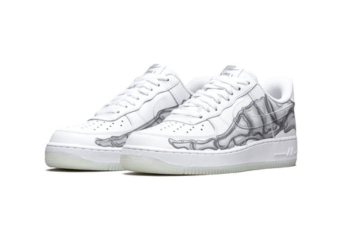 Nike Air Force 1 QS 'Skeleton'