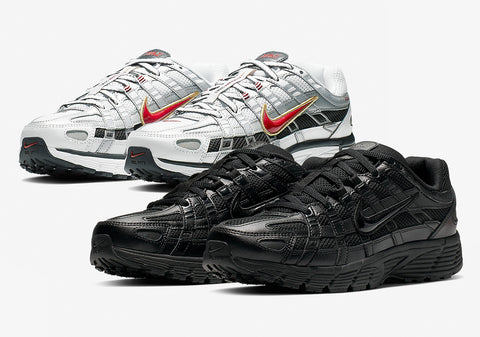 Nike P-6000 CNPT 'Triple Black' & 'White/Silver/Red'