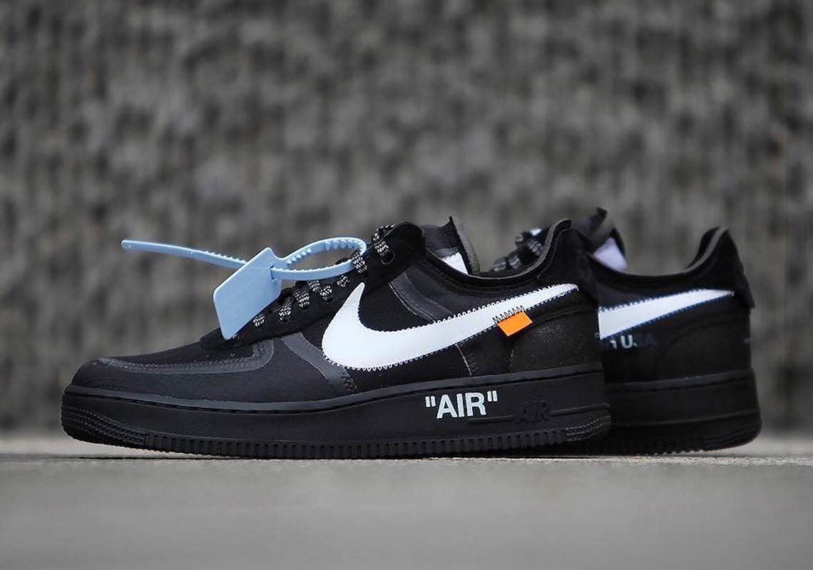 Off-White x Nike Air Force 1 'Black'