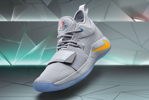 new arrival 6d624 96b93 PlayStation x Nike PG 2.5  Wolf Grey . After several teasers from Paul  George, Nike officially unveils ...