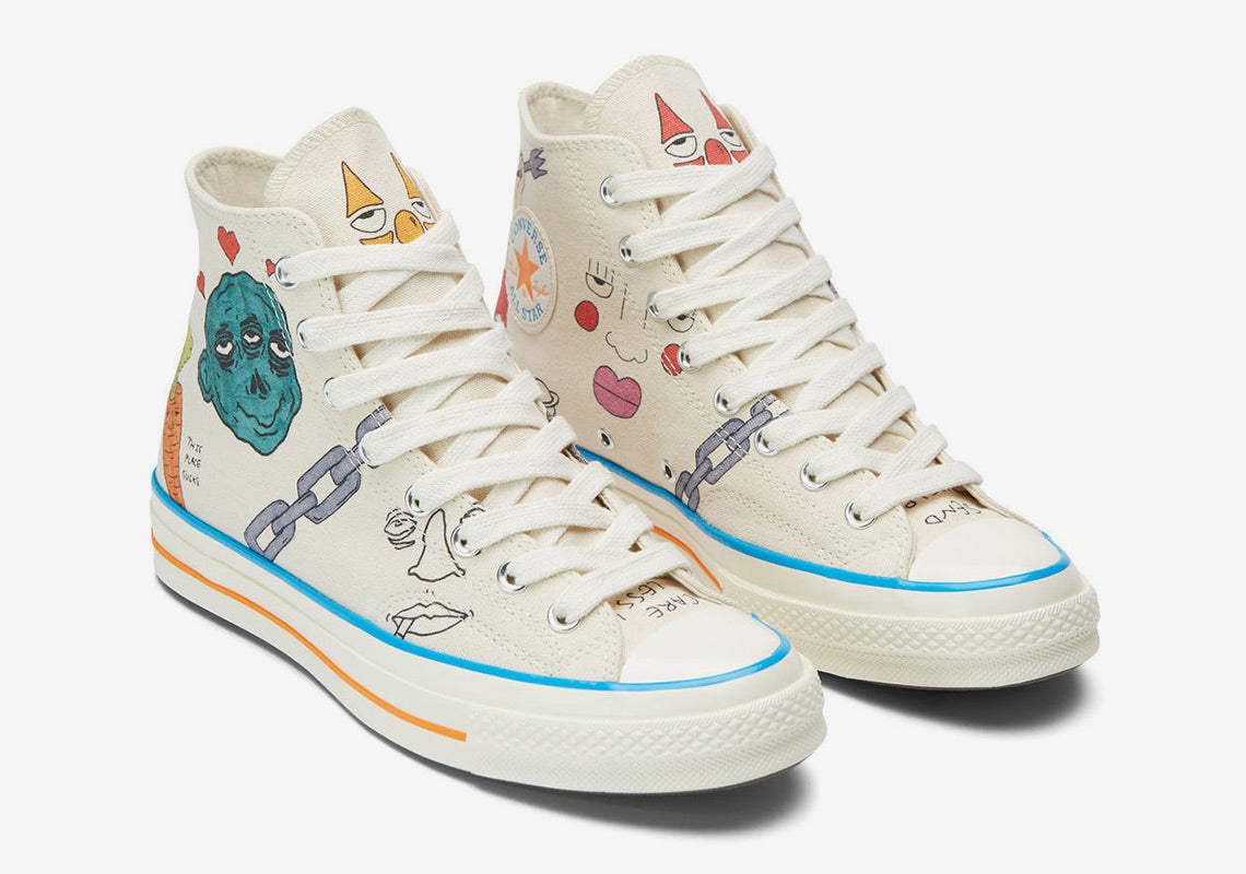 af00a644e034b4 Singapore Release  Tyler The Creator x Converse Artist Series Collecti -  Sneakest