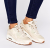 Nike Air Max 90 Premium Trainers in Oatmeal