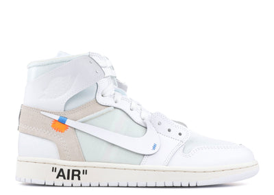 Off-White x Air Jordan 1 Retro High 'White'