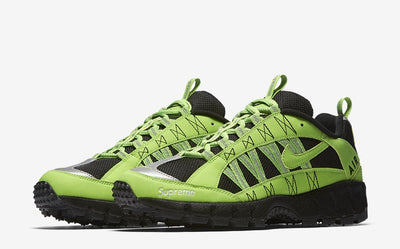 uk availability ff1c8 27c39 Supreme x Nike Air Humara '17 'Action Green' - Sneakest